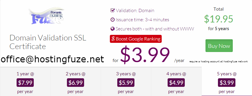ssl for only $3.99