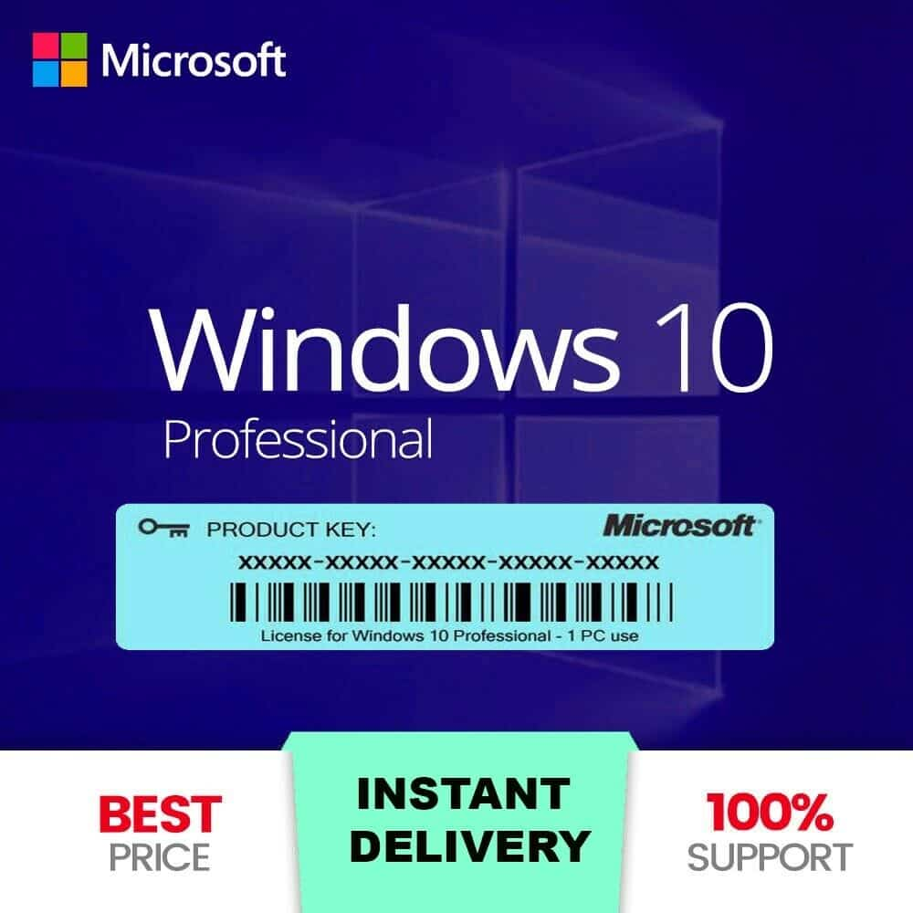 Win 10 Pro 32//64 bit Key Permanent Use, Fast Delivery Link Dowload
